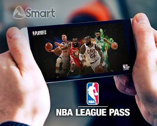 Smart NBA50 – NBA League Pass Promo for only 50 Pesos