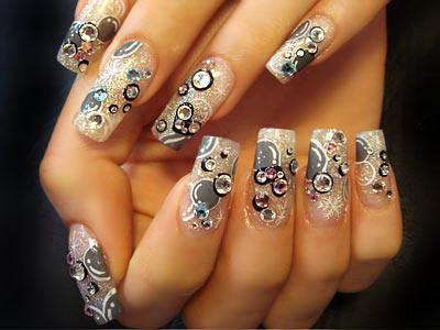 nail art paint design latest