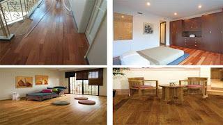Lantai kayu kempas