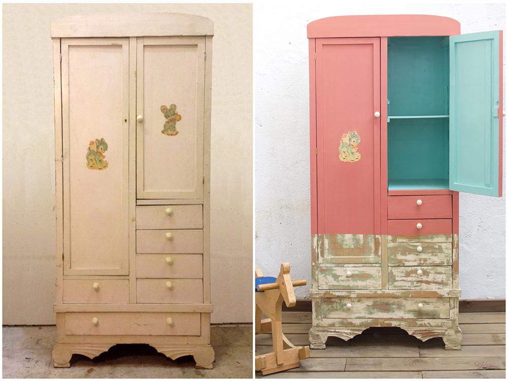 Antes y después - Armario infantil - Studio Alis