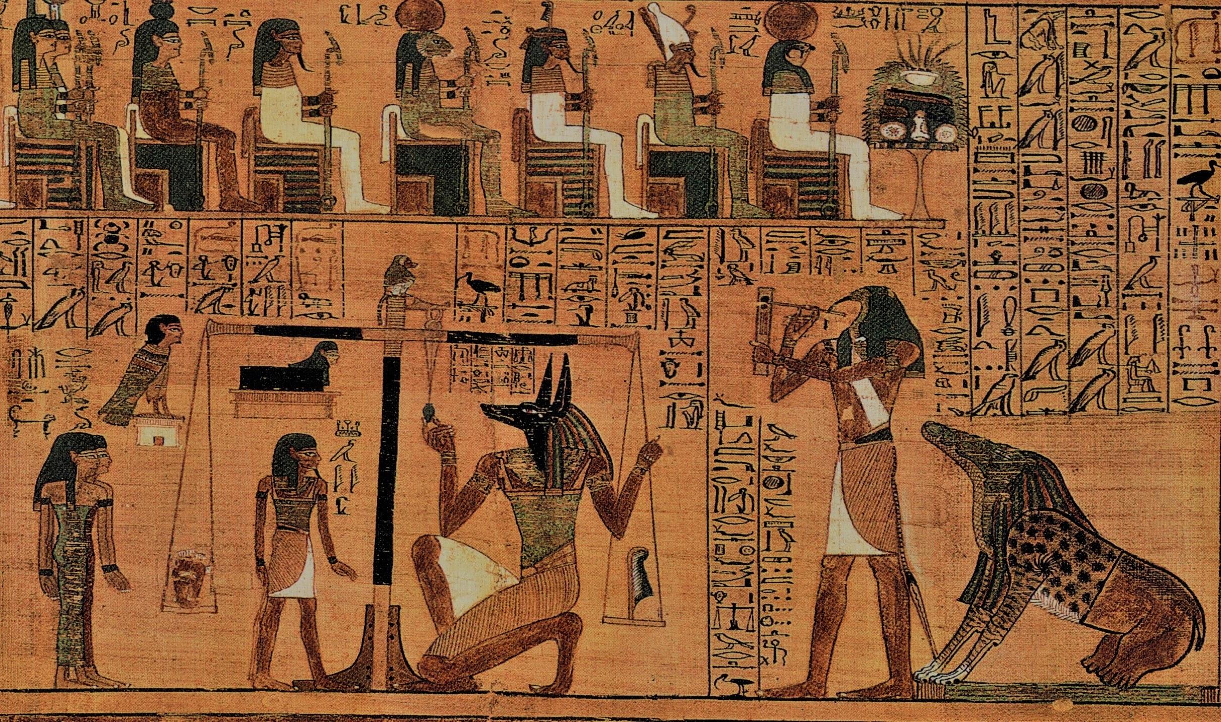 El Juicio de Osiris, imagenes del dios anubis, dios egipcio con cabeza de perro