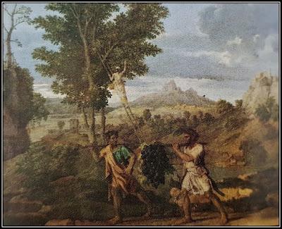 Ο πίνακας του Nicolas Poussin απεικονίζει τον τρύγο που γίνεται το φθινόπωρο