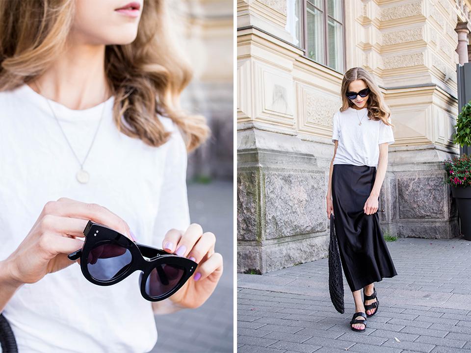 Casual and chic layered summer outfit - Rennon tyylikäs kerrospukeutuminen, kesämuoti