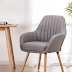 YEEFY  Contemporary Modern Muted Fabric Accent Arm Chair