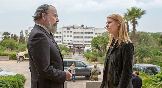 Review 'Homeland' temporada ocho. Carrie (Claire Danes) y Saul (Mandy Patinkin)