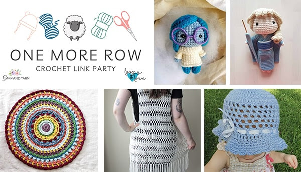 One More Row - Free Crochet Link Party #32