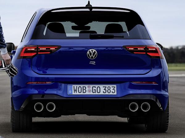 Novo Golf R 2021 chega à Espanha com preço de  € 51.300