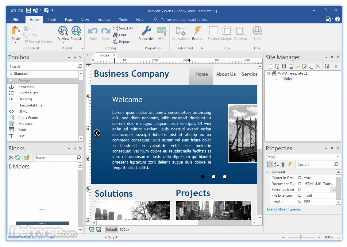 wysiwyg web builder 11 free download full version