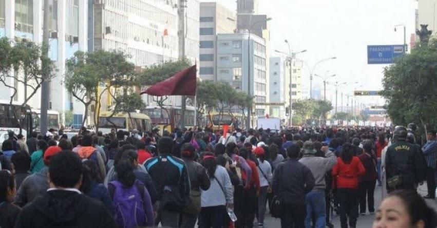CANATUR pide declarar zona rígida el centro de Lima para evitar manifestaciones - www.canaturperu.org