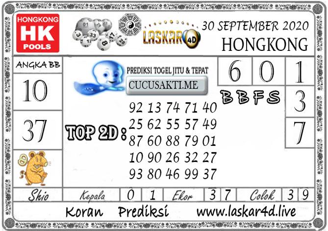 Prediksi Togel HONGKONG LASKAR4D 29 SEPTEMBER 2020