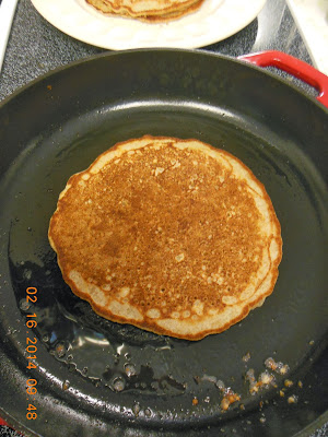 Cast iron pans, the perfect cooking surface for Sourdough pancakes.