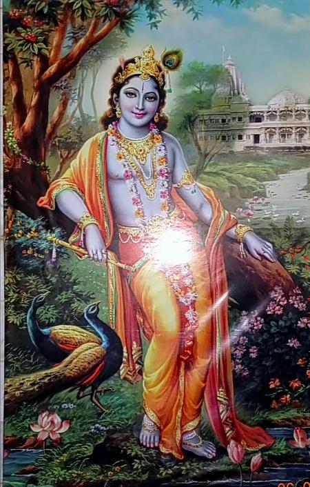 Prem Mandir Vrindavan Lord Krishna image
