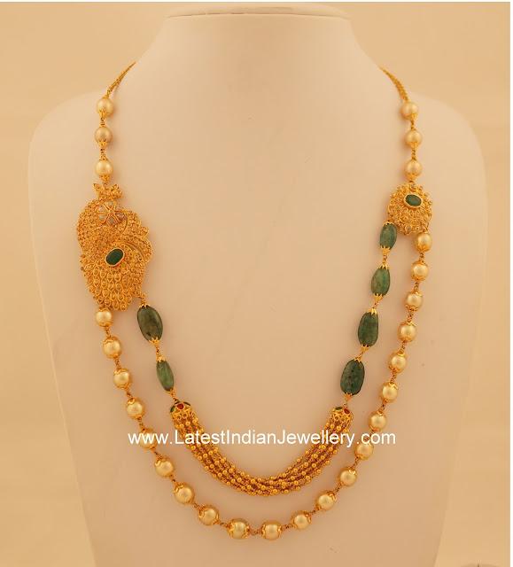Emeralds Pearls Beads Uncut Haram