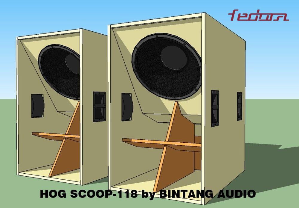 Dual Speaker Hog Scoop