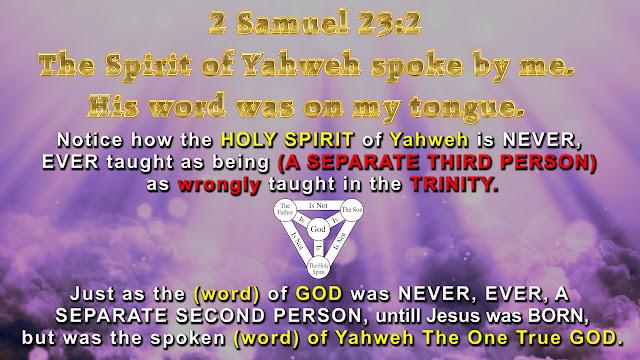 2 Samuel 23:2