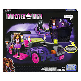 MH Monster Moviemobile Clawdeen Wolf Mega Blocks Figure