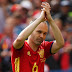Andres Iniesta retires from international football after defeat to Russia