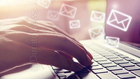 mensagem mail corporativo prova autorizacao judicial