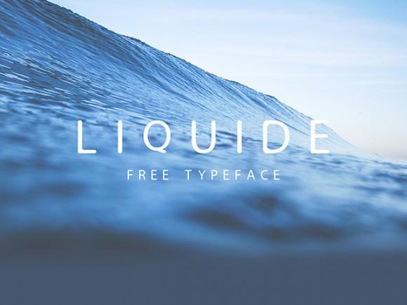 Download Font Terbaru dan Terbaik Januari 2016 - Liquide Font