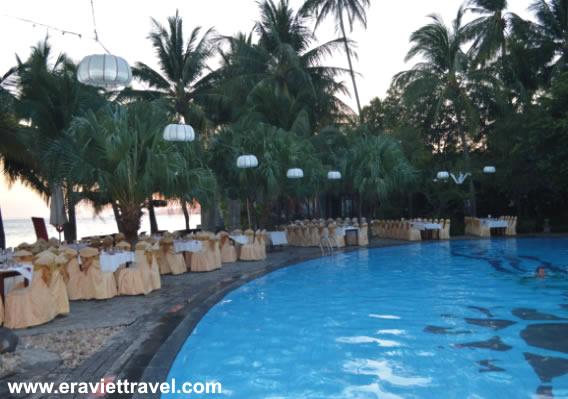 resort 4 sao - hồ bơi thông minh - du lịch mũi né