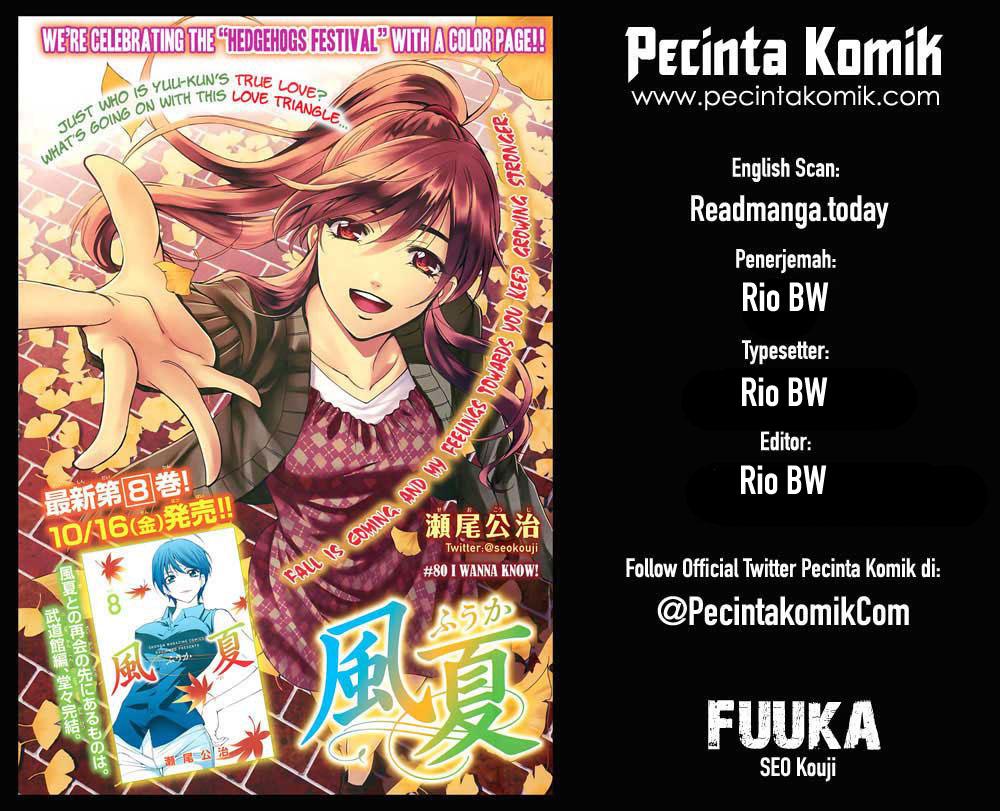 Fuuka Chapter 139-1