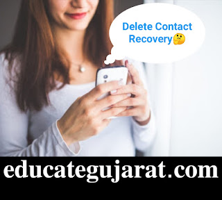 How to recover Delet Contact
