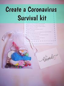 Coronavirus survival kit header