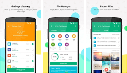 Aplikasi apus file manager