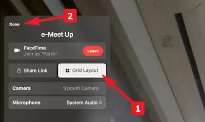 Cara Mengaktifkan Tampilan Grid di FaceTime (Grid View)-3