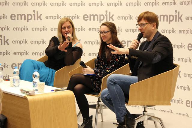 Marzenia się spełniają, czyli o spotkaniu z Magdaleną Witkiewicz i Alkiem Rogozińskim