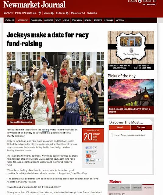 Newmarket Journal Racing For Girls