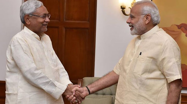 PM Modi Congratulates to Nitish Kumar