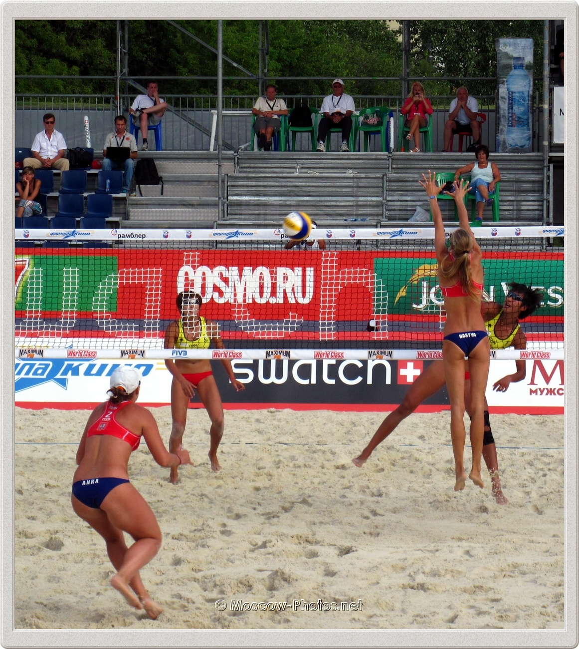 FIVB Beach Volleyball Swatch Grand Slam Moscow