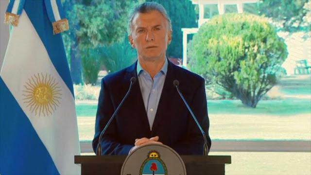 Macri pide disculpas por su enojo tras el revés electoral