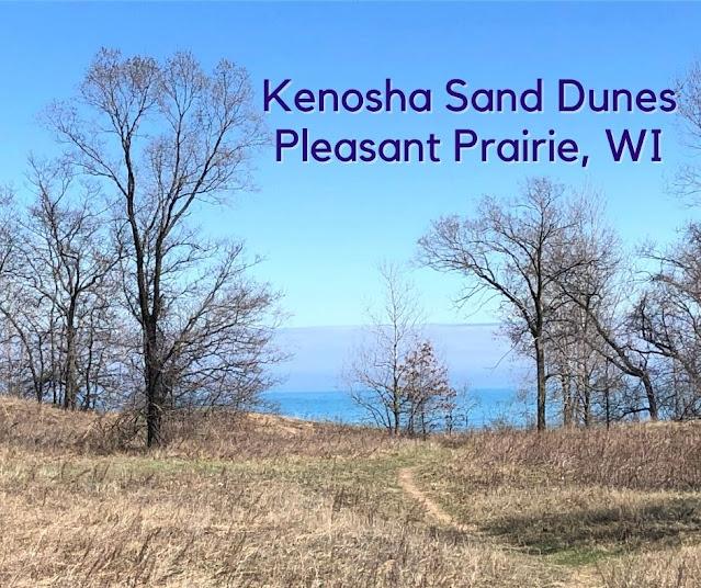 Breathtaking Lake Michigan Views from Kenosha Sand Dunes in Pleasant Prairie, Wisconsin