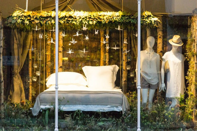 Chelsea in Bloom 2017. The White Company Foto: Duke of  York Square