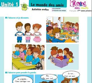 Posters l'oasis des mots français 3aep  2019