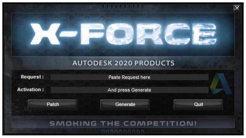 Tải X-Force Keygen cho tất cả sản phẩm của Autodesk 2020