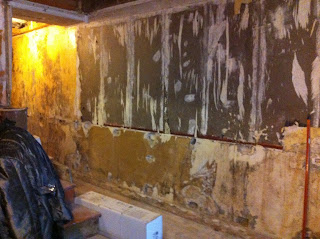 Renovation Project - how to strip wallpaper from old walls