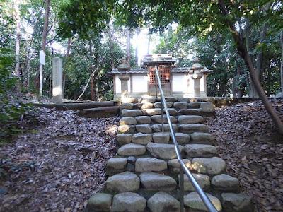 貴船神社(穂掛神社) 石段