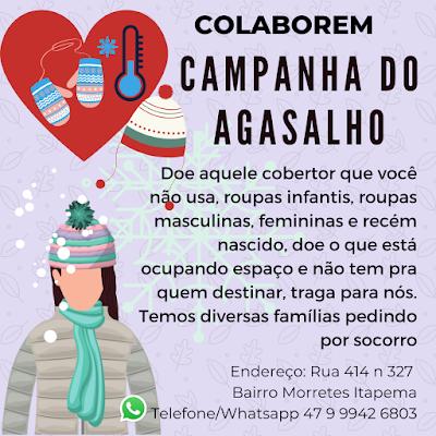 Campanha do Agasalho Itapema 2020