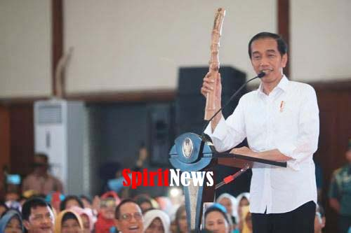 Presiden Jokowi, Minta Pada Masyarakat Mengawasi Penggunaan Dana Desa