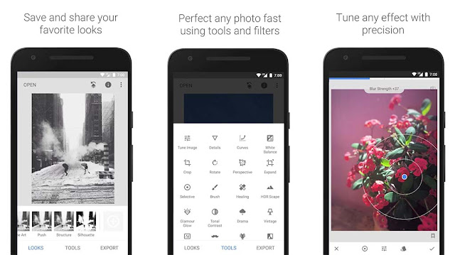 Snapseed from Best Photo Editor Apps For Android