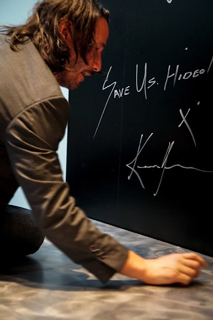 الممثل العالمي Keanu Reeves يزور مقر أستوديو Kojima لتجربة لعبة Death Stranding