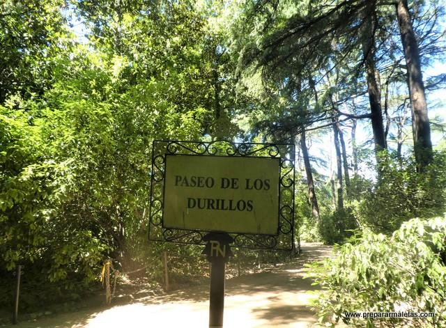 Paseo de los Durillos en el Campo del Moro