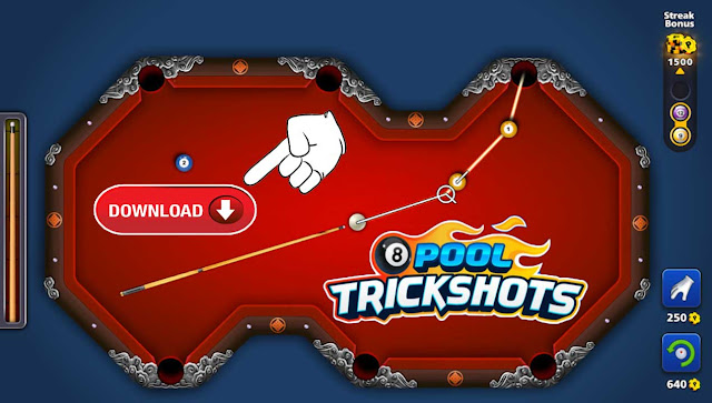 8 ball pool TrickShots Download and install