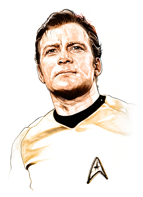 07-William-Shatner-Captain-James T-Kirk-Corbyn-S-Kern-Game-of-Thrones-Star-Trek-and-Star-Wars-Character-Drawings-www-designstack-co