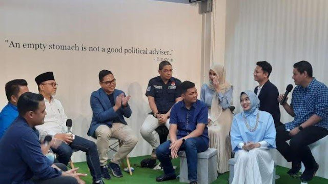 Hadiri Peresmian Amanat Institute, Wali Kota Kediri Ungkap Soal Forum Ketawa
