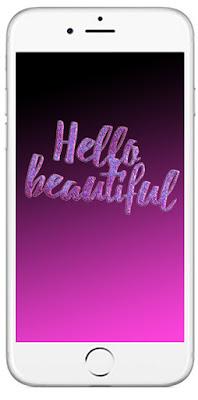 Tapeta Hello beautiful