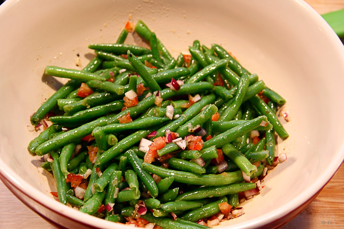 Kardemomme frøen : Salat af grønne bønner x 2